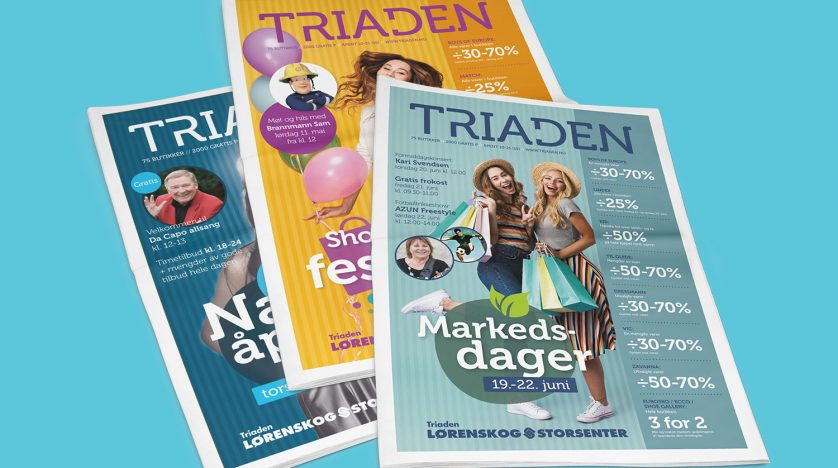 Kampanjeaviser for Triaden